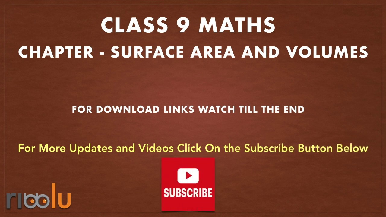Surface Areas Volumes Class 9 Maths Chapter 13 Worksheets Samp Volume Worksheets Math Studying Math [ 720 x 1280 Pixel ]