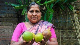 Village Street Food: Bael or Wood Apple Juice Recipe by Village Food Life