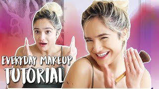 My Updated Everyday Makeup Routine! (Lots of Craziness)