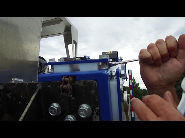 Down rigger adjustments