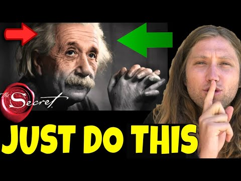 Albert Einstein's Law of Attraction Secrets To Attract What You Want (Theory of Happiness)