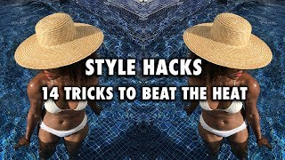 How To Look Good When It's Hot | Best Hats, Clothes, Bags etc