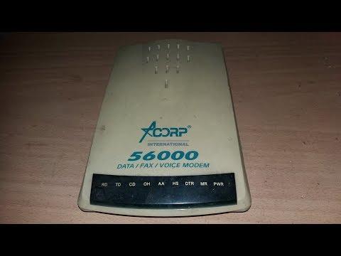 Розбір комп'ютерного модема Acorp Іnternational з золотом