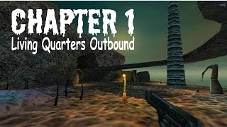 Blue Shift (100%) Walkthrough (Chapter 1: Living Quarters Outbound)
