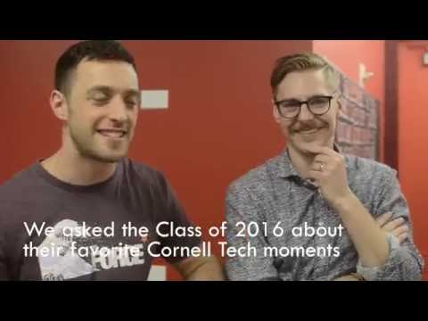 Cornell Tech Class of 2016 - Year In Review