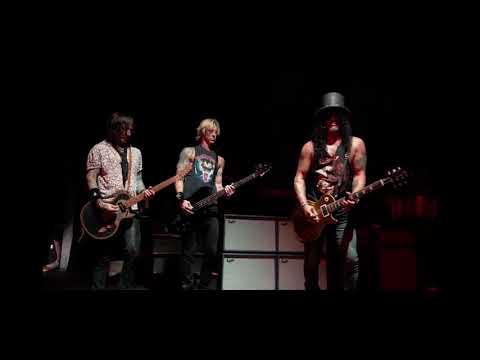 Slash plays a sad blues guitar solo full video