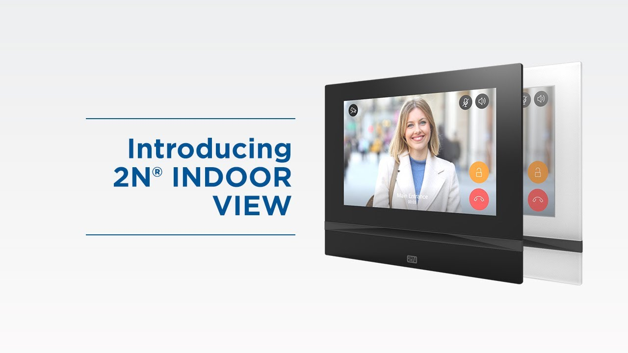 "Introduction of 2N® Indoor View l New In-home intercom system with 7"" HD touchscreen"