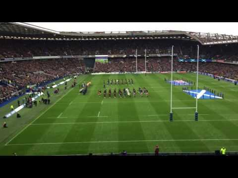65,000 people singing Flower of Scotland
