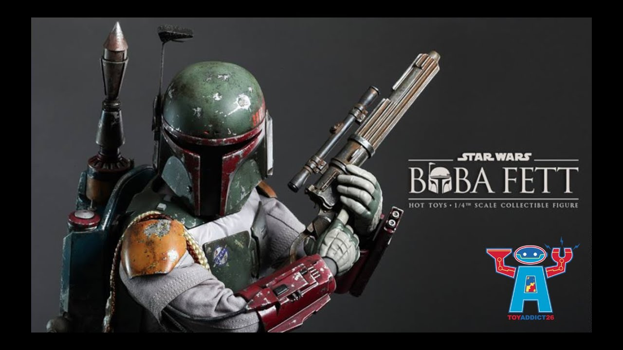 new star wars boba fett quarter scale figure by hot toys in 2015