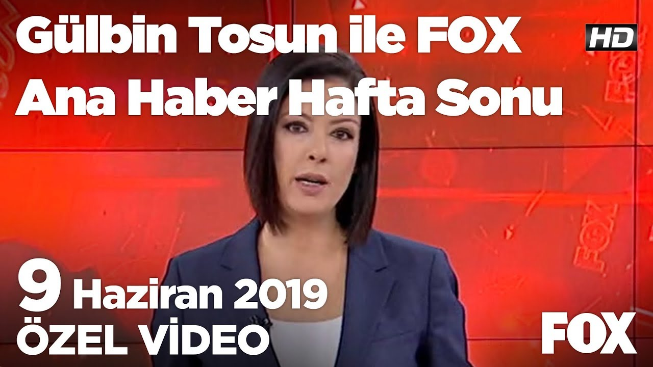 Özel: Binali Bey birazcık tutarlı ol! 9 Haziran 2019 Gülbin Tosun ile FOX Ana Haber Hafta Sonu