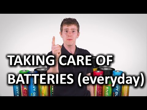 Rechargeable Battery Care as Fast As Possible