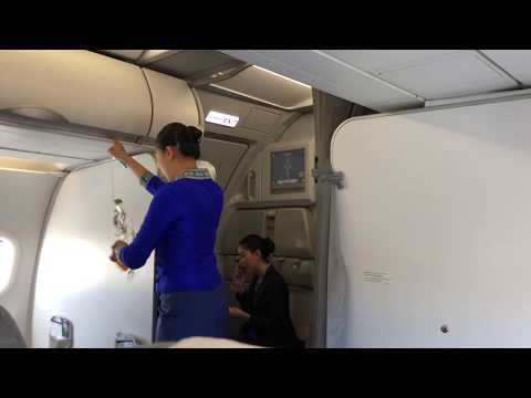 Lao airlines safety Demonstration (Airbus A320)