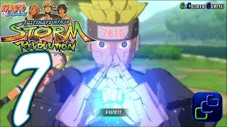 Naruto Shippuden: Ultimate Ninja Storm Revolution Walkthrough - Part 7 - Mecha Naruto Story