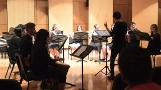 An original work for clarinet choir arranged here for mixed woodwin...