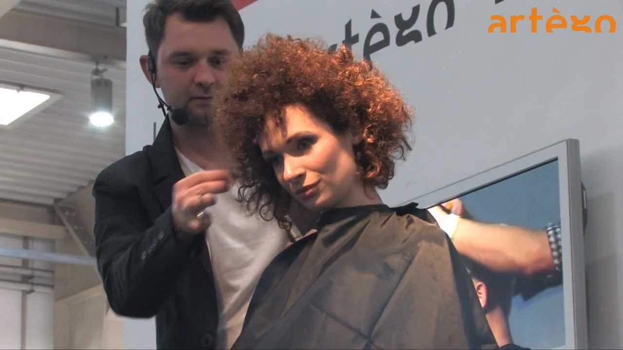 artego show on hair fairs LOOK Poznan 2012