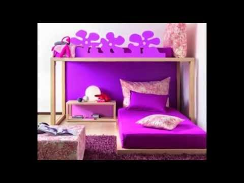 chambres coucher pour filles bedrooms for girls habitaciones para ni as youtube. Black Bedroom Furniture Sets. Home Design Ideas