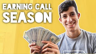 Why Earning Calls Can Be EXTREMELY Profitable | How I Find & Trade Them