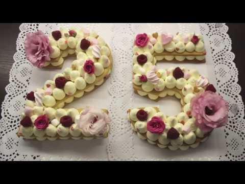 Rəqəmli Tort Tort Resepti Rakam Pasta Tarifi Number Cake Recipe Tort Cifra Youtube