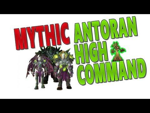 "7.3.2 MYTHIC ""Antoran High Command"" - Resto Druid PoV (Antorus, the Burning Throne)"