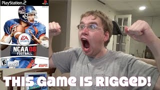 CONNOR CLASSICS: NCAA FOOTBALL 08 PS2 - GIVE RAY RICE A CHANCE!