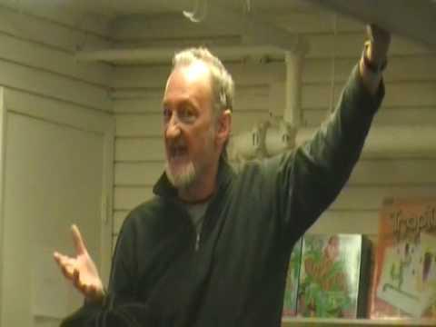 Robert Englund at Bookends Bookstore (Ridgewood New Jersey) Part 1 of 3