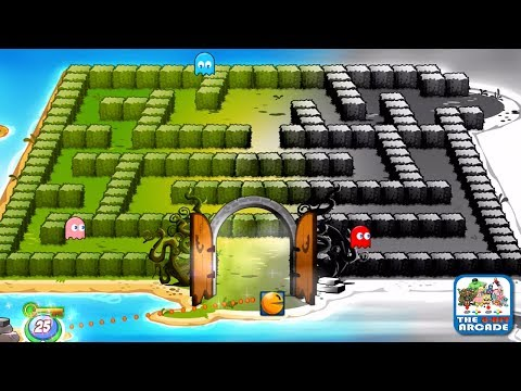 PAC-MAN Friends - Collecting Keys To Unlock The Haunted Labyrinth (iOS/iPad Gameplay)