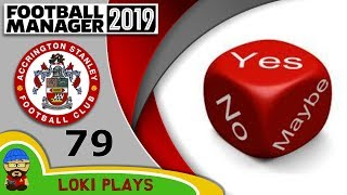 Football Manager 2019 - Episode 79 - THE DECIDER - The Stanley Parable - FM19