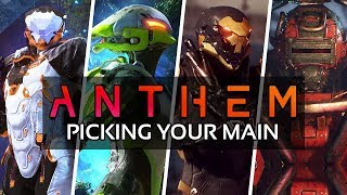 Anthem - WHAT JAVELIN SHOULD YOU PICK? | All Javelin Playstyles, Strengths and Weaknesses