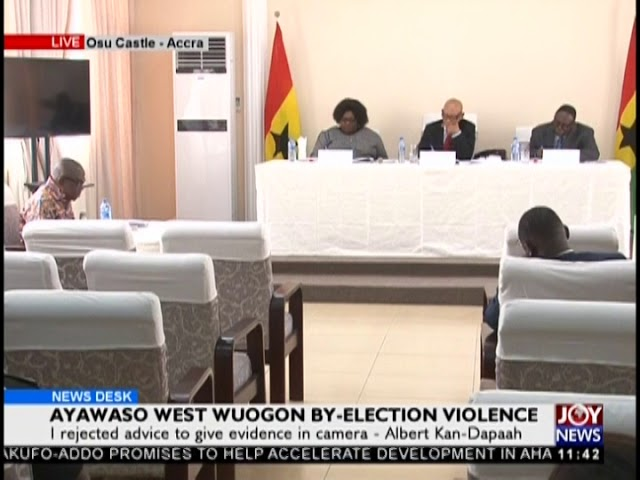 Ayawaso By-Election: Commission Of Inquiry Begins Sitting Today - News Desk on JoyNews (14-2-19)