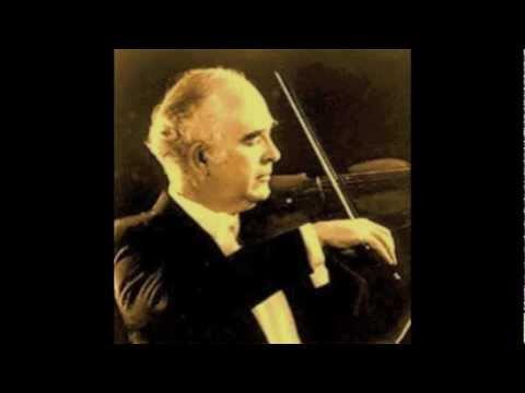 Joseph Silverstein plays Stravinsky's Violin Concerto