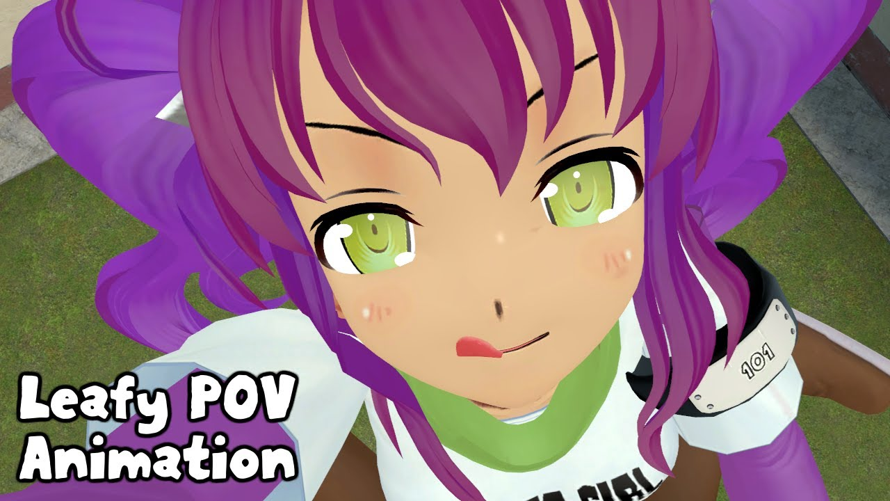 Leafy POV Animation [ Giantess Vore Animation ]
