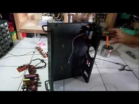 tutorial cara merakit power amplifier 400 watt stereo (200 watt x 2) PART 2