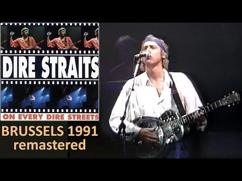 Dire Straits 1991 Brussels LIVE [new REMASTERED video 50 fps, complete concert]