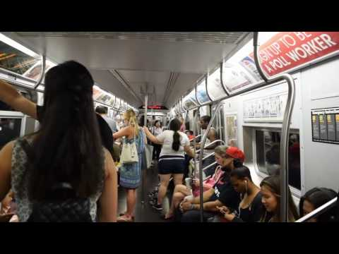 New York City Subway - Sounds and People