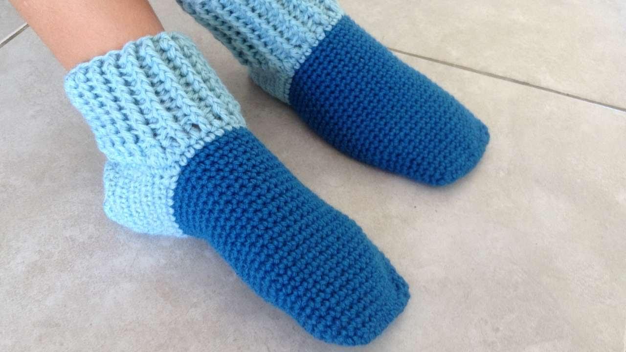 How to make socks 29