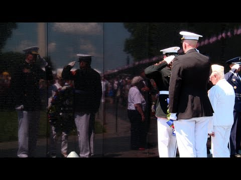 President Obama Honors the 50th Anniversary of the Vietnam War on Memorial Day