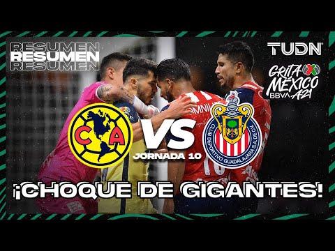 Resumen   América vs Chivas   Grita México BBVA AP2021 J10   TUDN