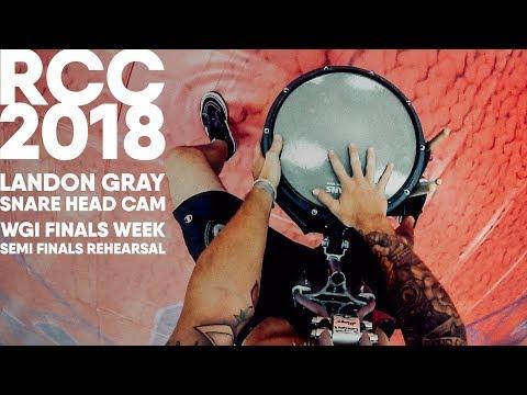 """RCC 2018 Snare Head Cam - """"Listen"""" - Landon Gray"""