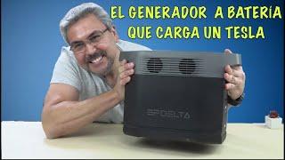 Este Generador portátil carga un TESLA - EcoFlow Delta