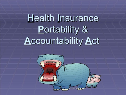Health Insurance Portability & Accountability Act