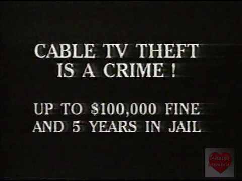 Cable TV Theft | PSA | 1999 - YouTube