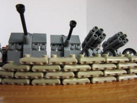 Лего мультфильм Сталинград, Великая Отечественная война / Lego .