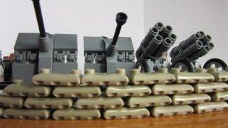 Лего немцы 2 мировая война. Блицкриг.Набор лего немцев с  реактивным минометом.