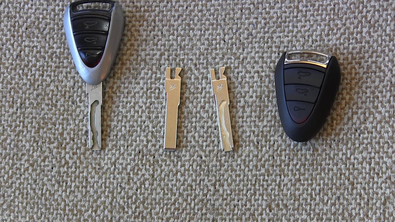 Porsche 911 Cayman Boxster 987 997 Key And Remote Replacement As Possible Battery