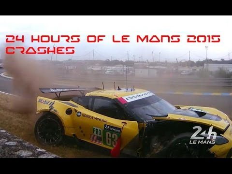 24 HOURS OF LE MANS 2015 CRASHES