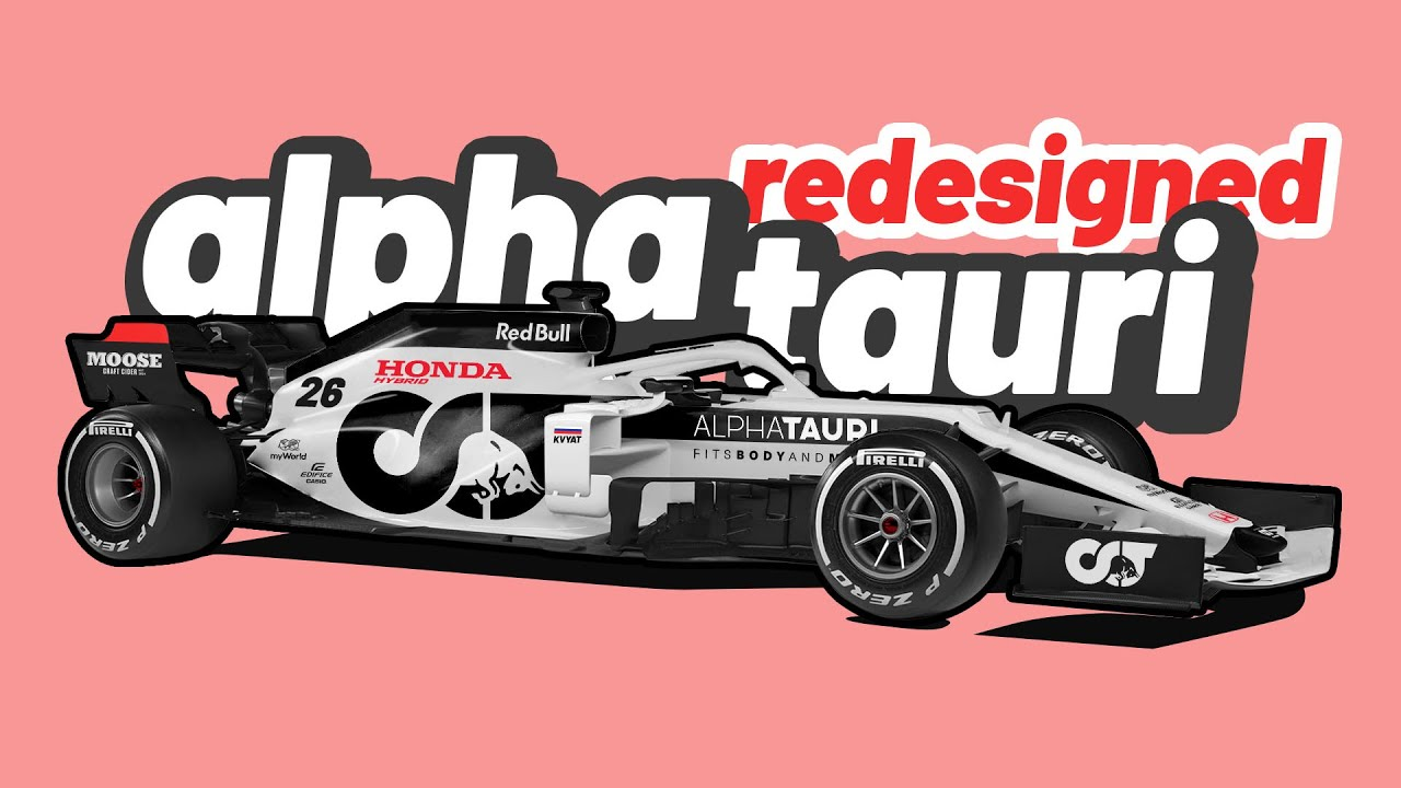 2020 Alpha Tauri Formula 1 Car Redesigned Youtube