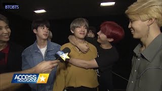 [INDO SUB] Pendapat BTS tentang PACAR ??? - Access Hollywood BTS Interview