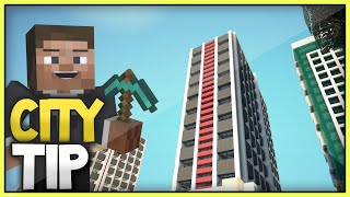 Minecraft Modern City Skyscrapers Helpful Tip  (Xbox360/Ps3/XboxOne/PS4)