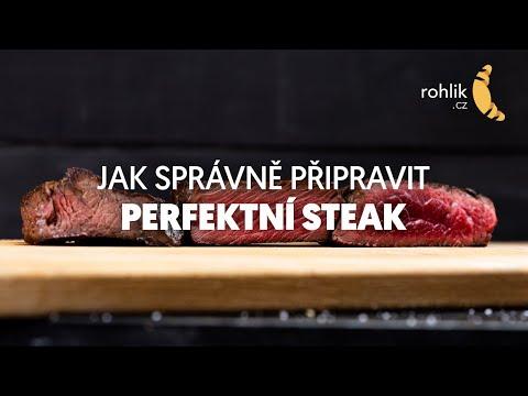 Jak připravit perfektní steak