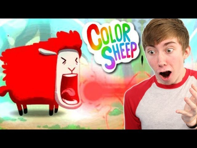 Lets play Color Sheep - HOW TO PLAY - Part 1 (iPhone Gameplay Video)